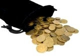 6264630-coins-spilled-from-the-bag-isolated-on-white-background