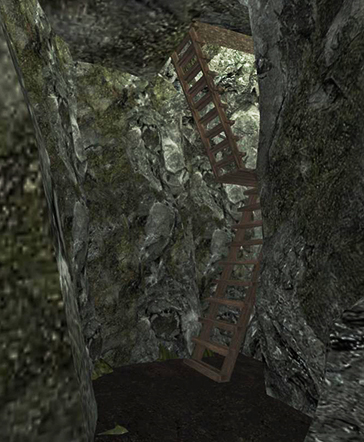 Cave Stairs to Bakery