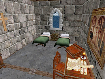 Abbey Guest Room
