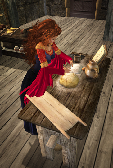 Desire Baking in Tavern