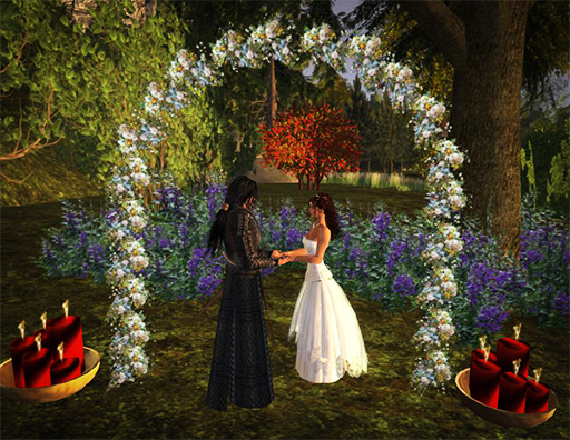 Handfasting at the Arch 2