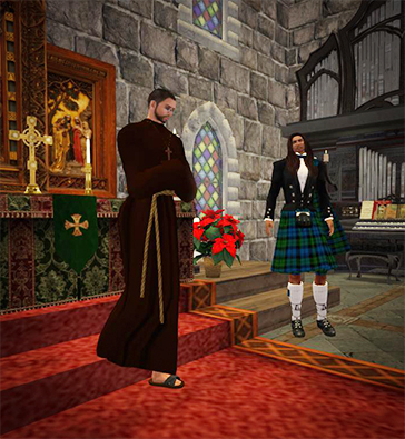 10. Cowan Waits with the Priest
